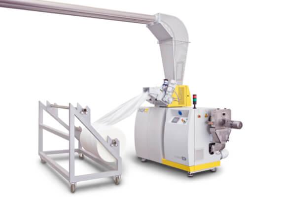 Smulkintuvo-tiektuvo-ekstruderio kombinacija-EGRAN-1