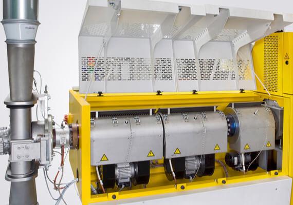 Smulkintuvo-tiektuvo-ekstruderio kombinacija-EGRAN-5