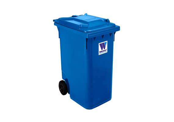 Buitinių atliekų konteineris 240l talpos, mėlynos spalvos