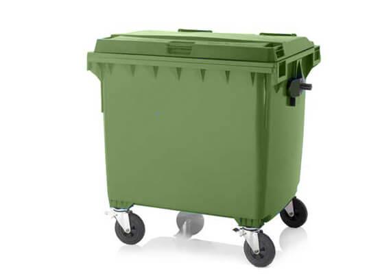 Buitiniu-atlieku-konteineris-1100l-talpos-zalios-spalvos-ploksciu-dangciu