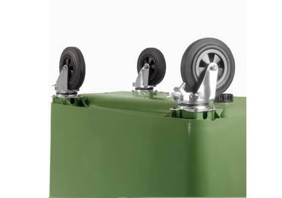Buitiniu-atlieku-konteineris-1100l-zalios-spalvos-apvaliu-dangciu-su-papildomu-dangteliu-3